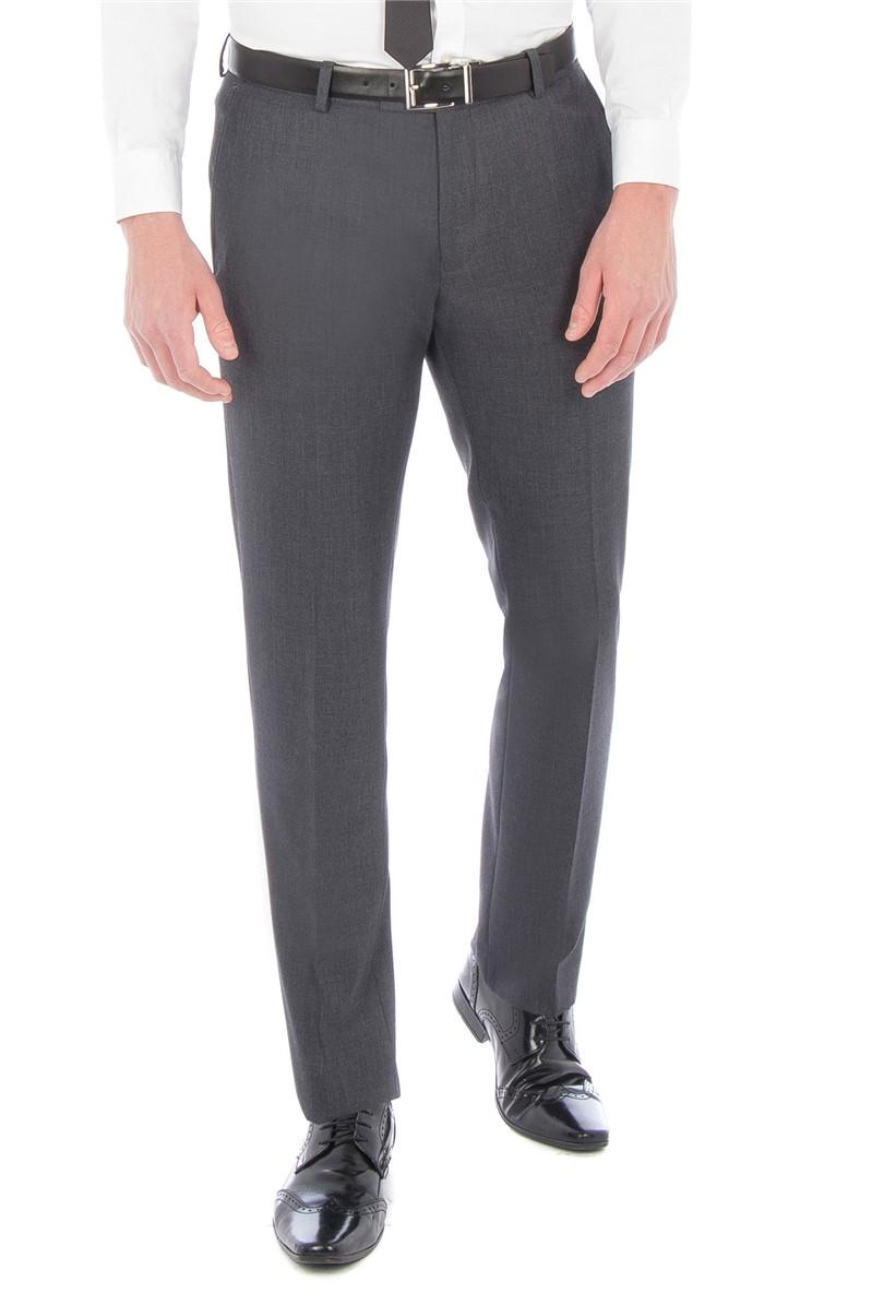 Charcoal Textured Slim Fit Suit