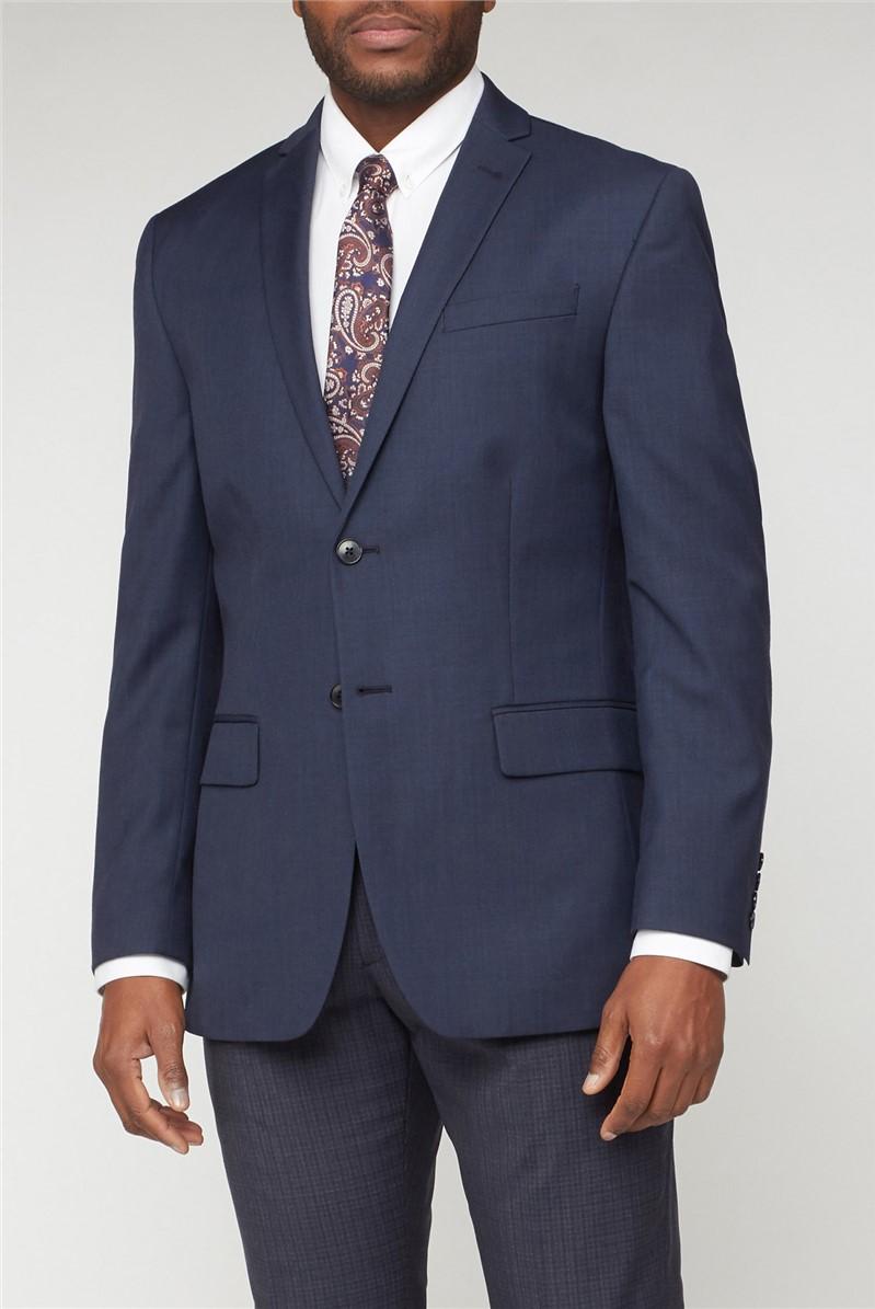 Deep Blue Pick & Pick Athletic Fit Suit
