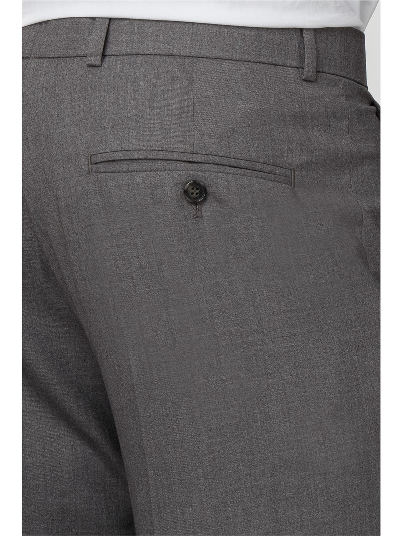 Occasions Grey Tailored Fit Trouser