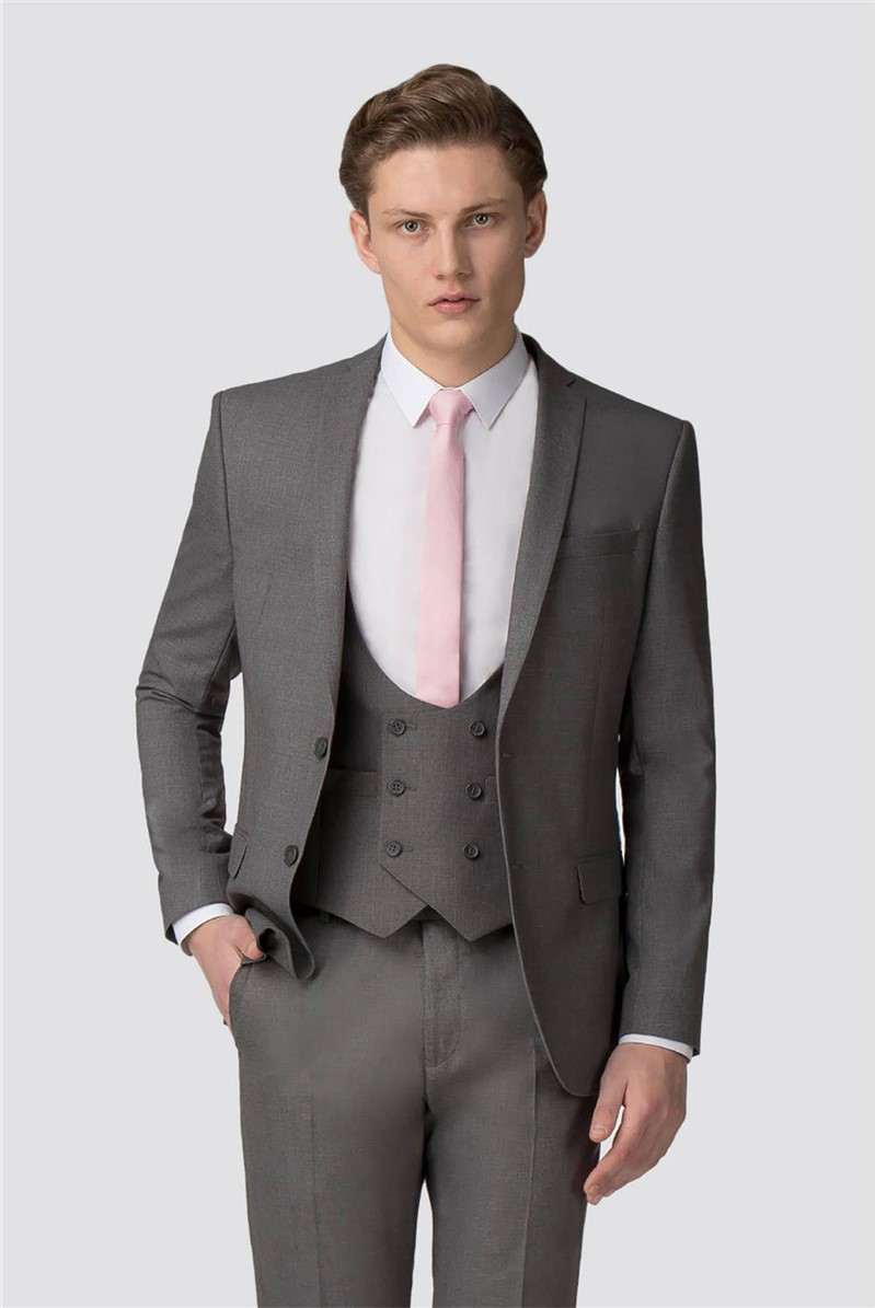 Occasions Grey Slim Fit Trouser