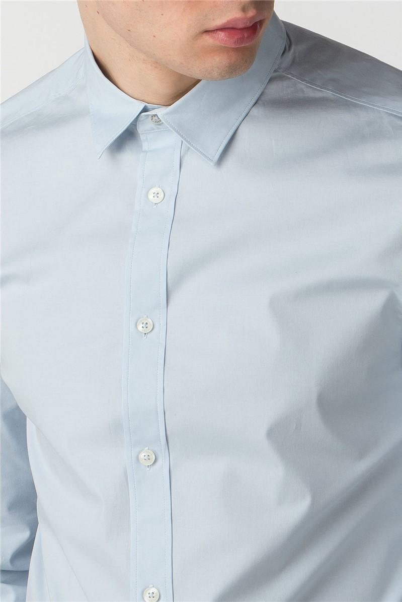 Long Sleeve Stretch Poplin Shirt
