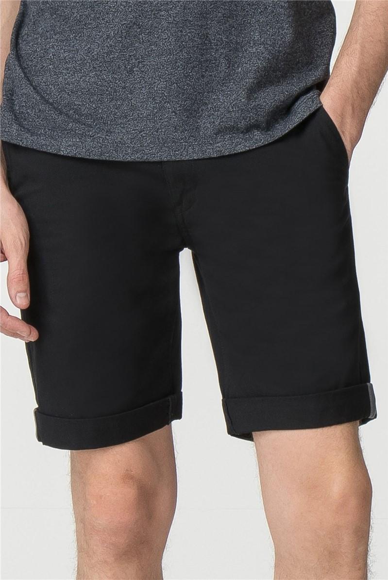 Black Chino Short