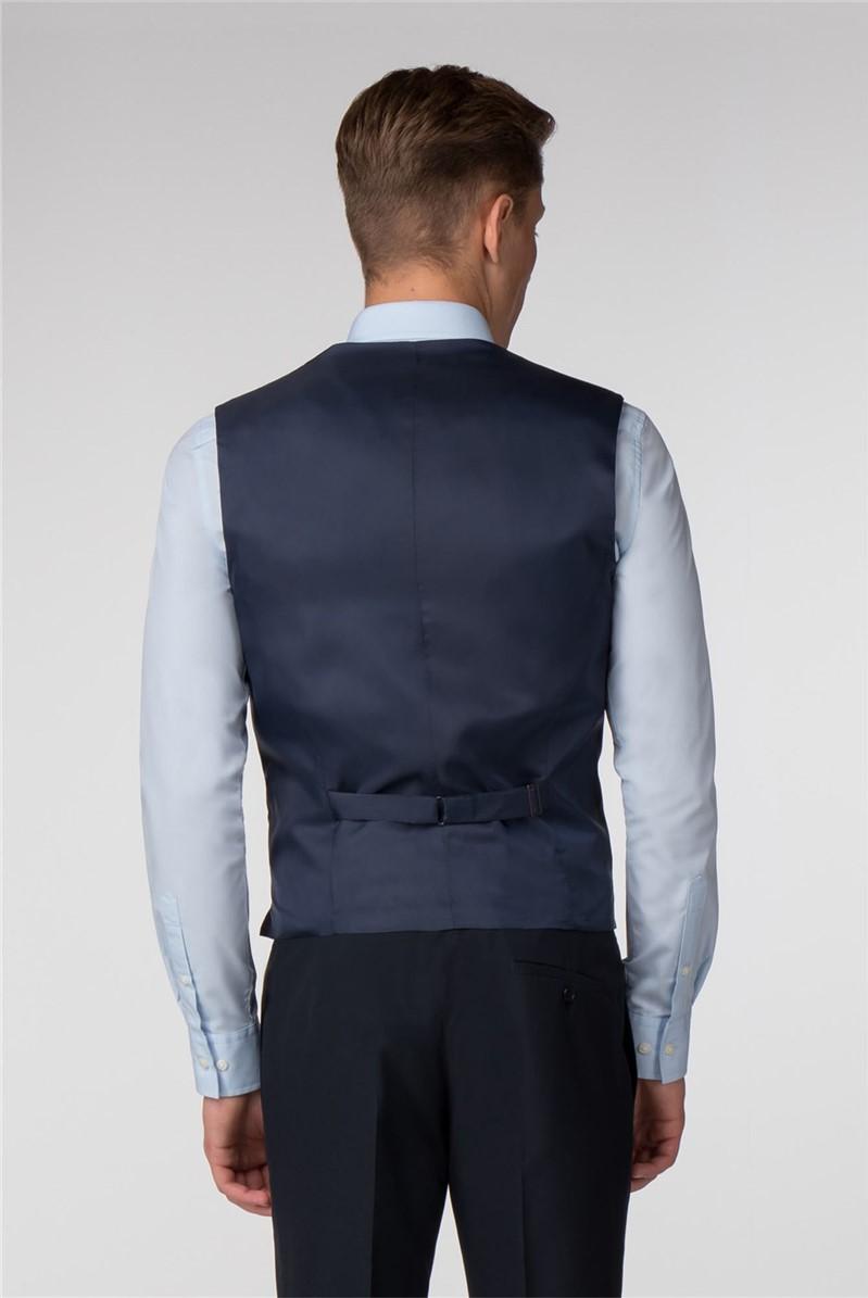 Plain Navy Panama Slim Fit Suit