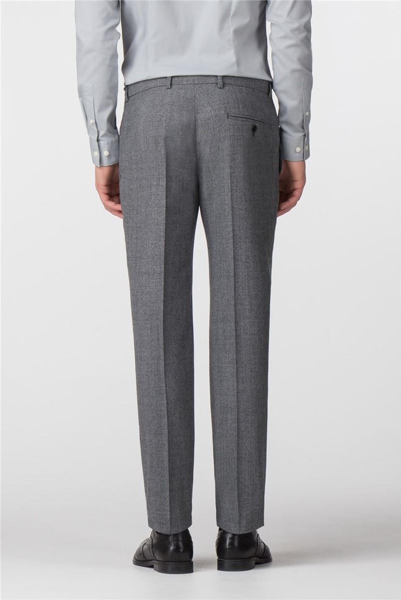 Grey Jaspe Slim Fit Trousers