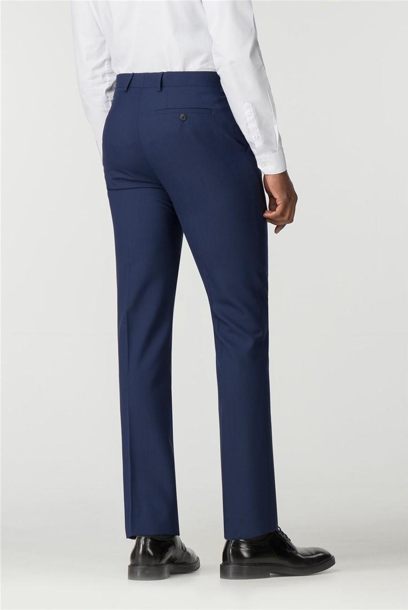 Stvdio Bright Blue Slim Fit Ivy League Suit