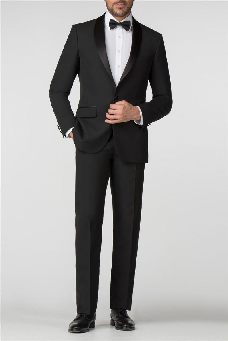 Satin Shawl Lapel Regular Fit Tuxedo
