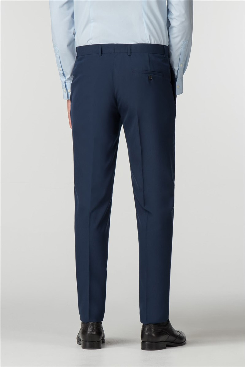 Blue Panama Skinny Fit Trousers