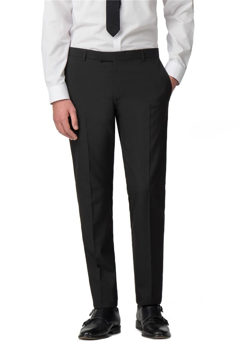 Black Panama Skinny Fit Suit