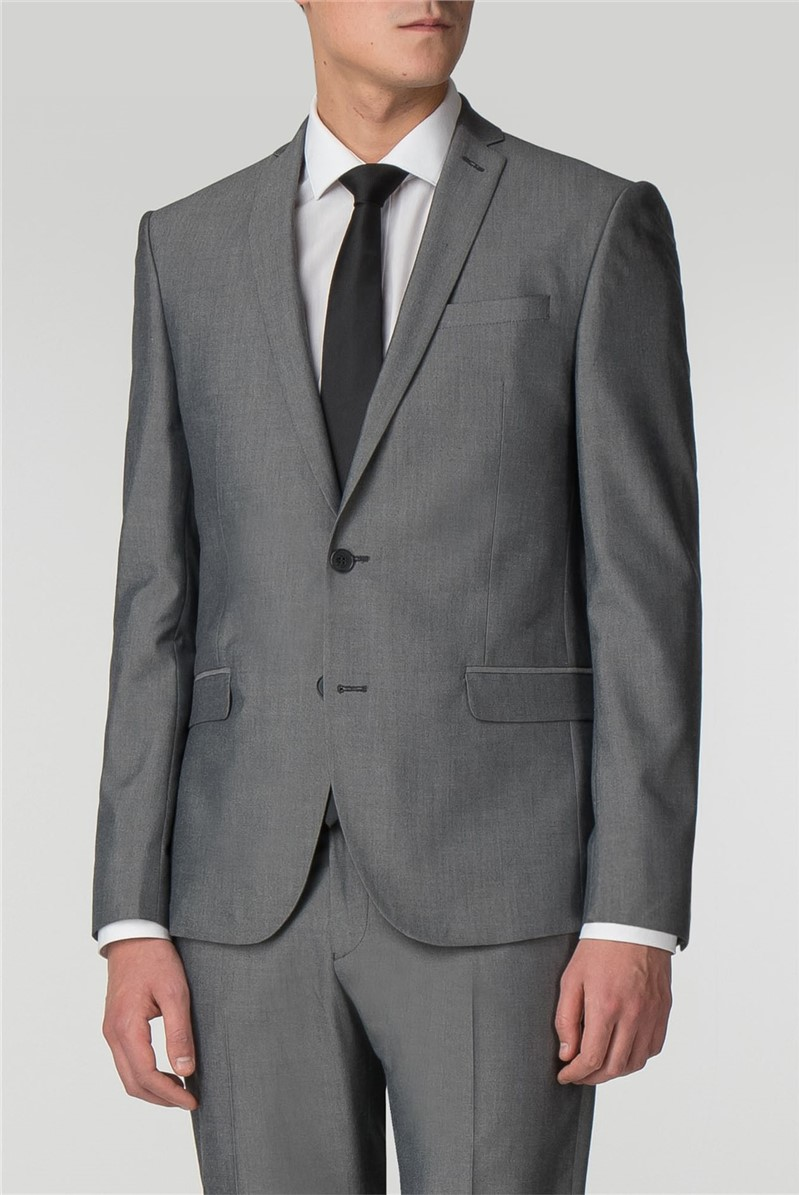 Silver Grey Skinny Fit Suit