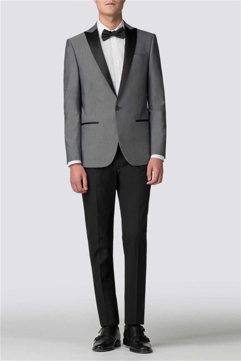 Silver Slim Fit Tuxedo