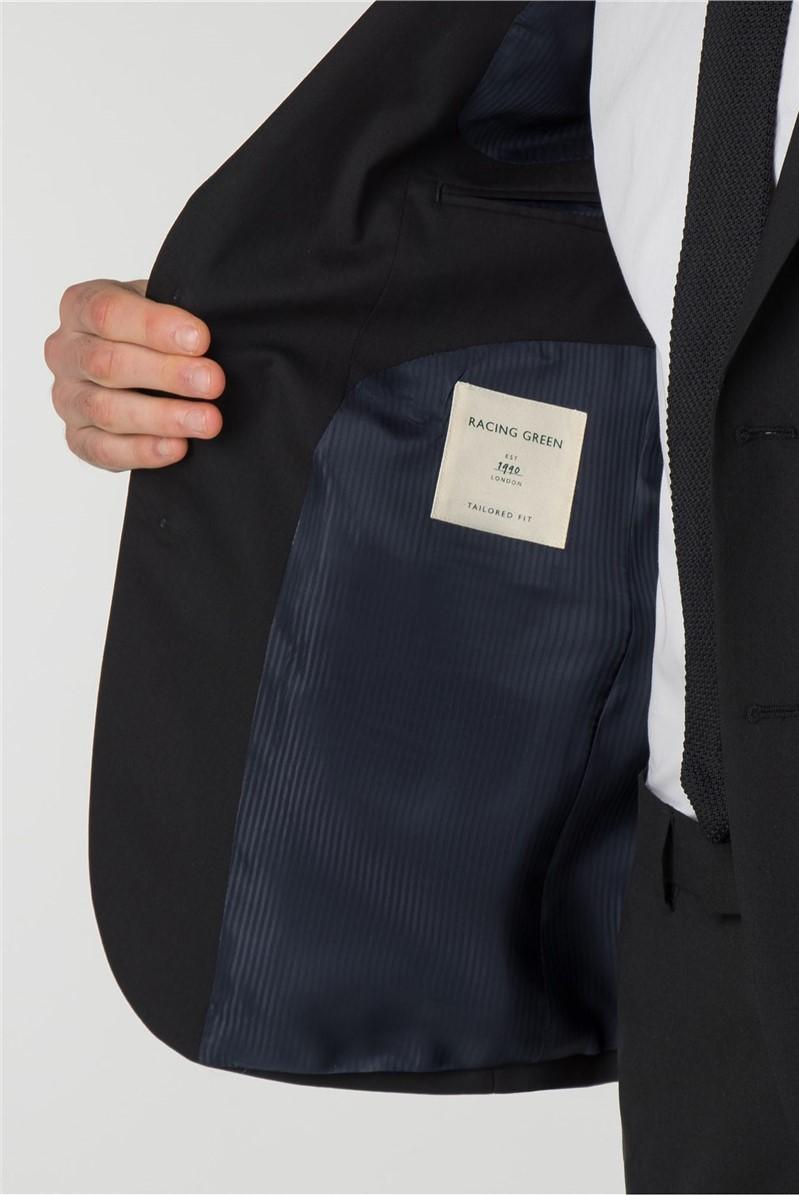 Black Panama Tailored Suit