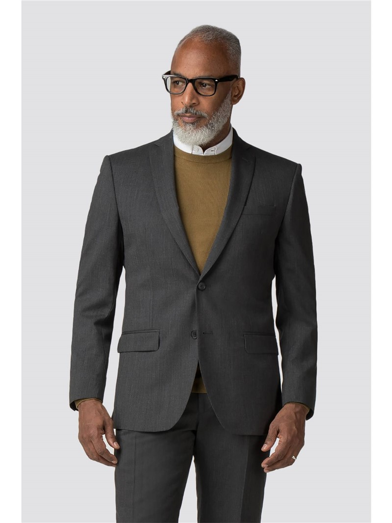 Charcoal Panama Tailored Fit Suit