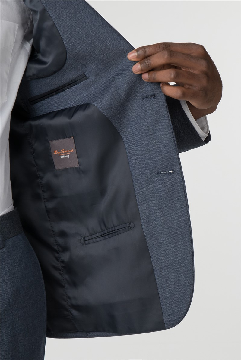 Airforce Blue Pick & Pick Slim Fit Suit
