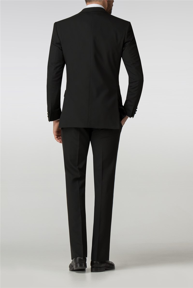 Regular Fit Black Tuxedo