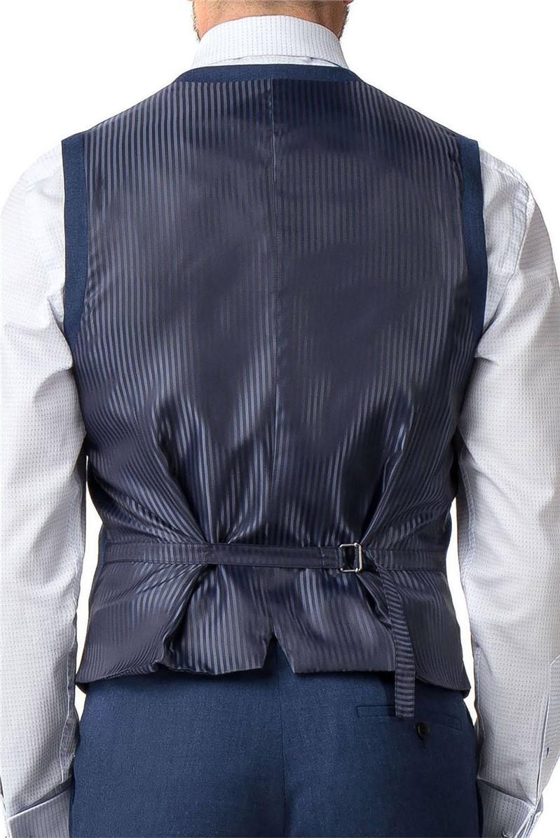 Stvdio Blue Textured Slim Fit Ivy League Suit