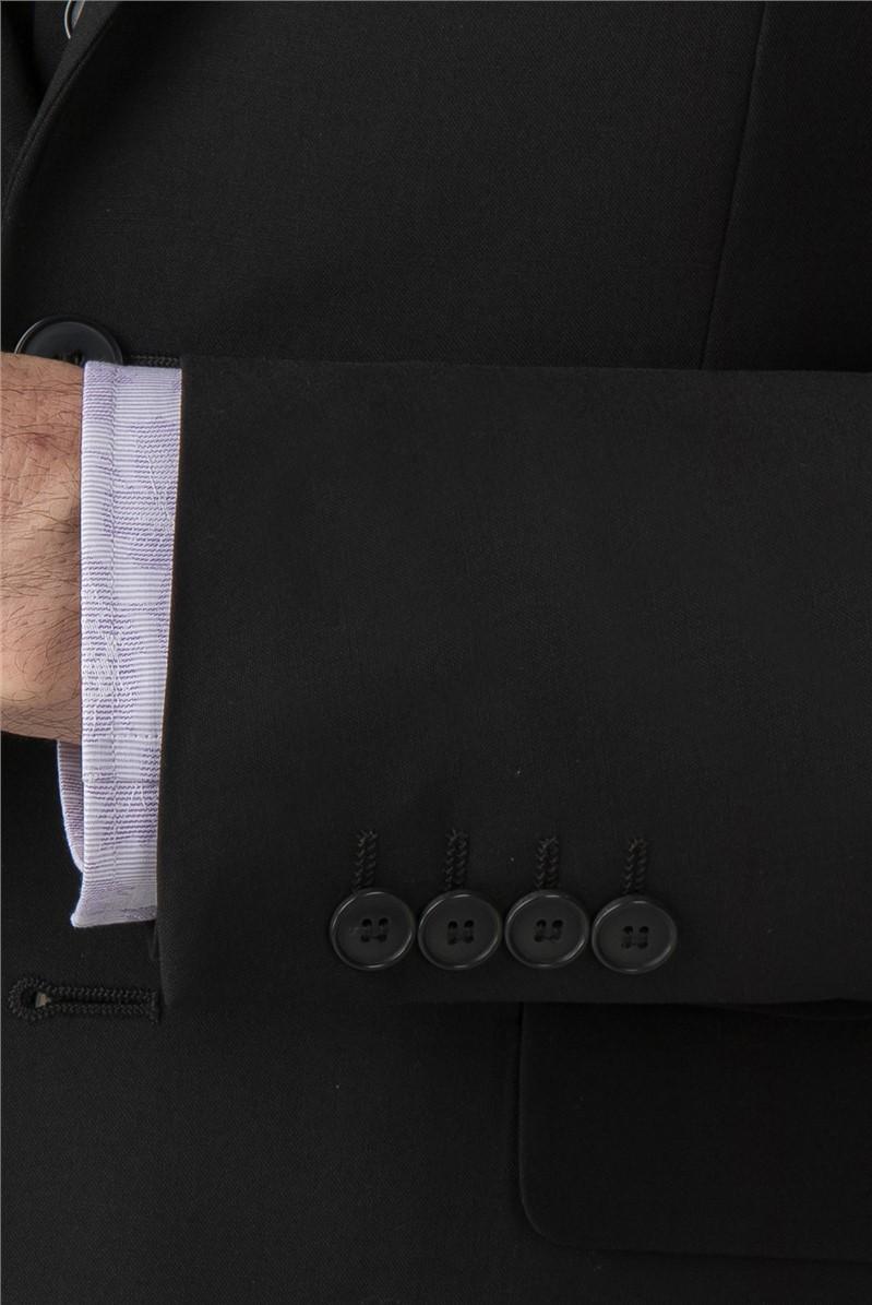 Stvdio Black Performance Suit Trouser