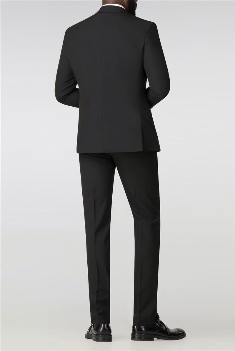 Black Panama Skinny Fit Tuxedo