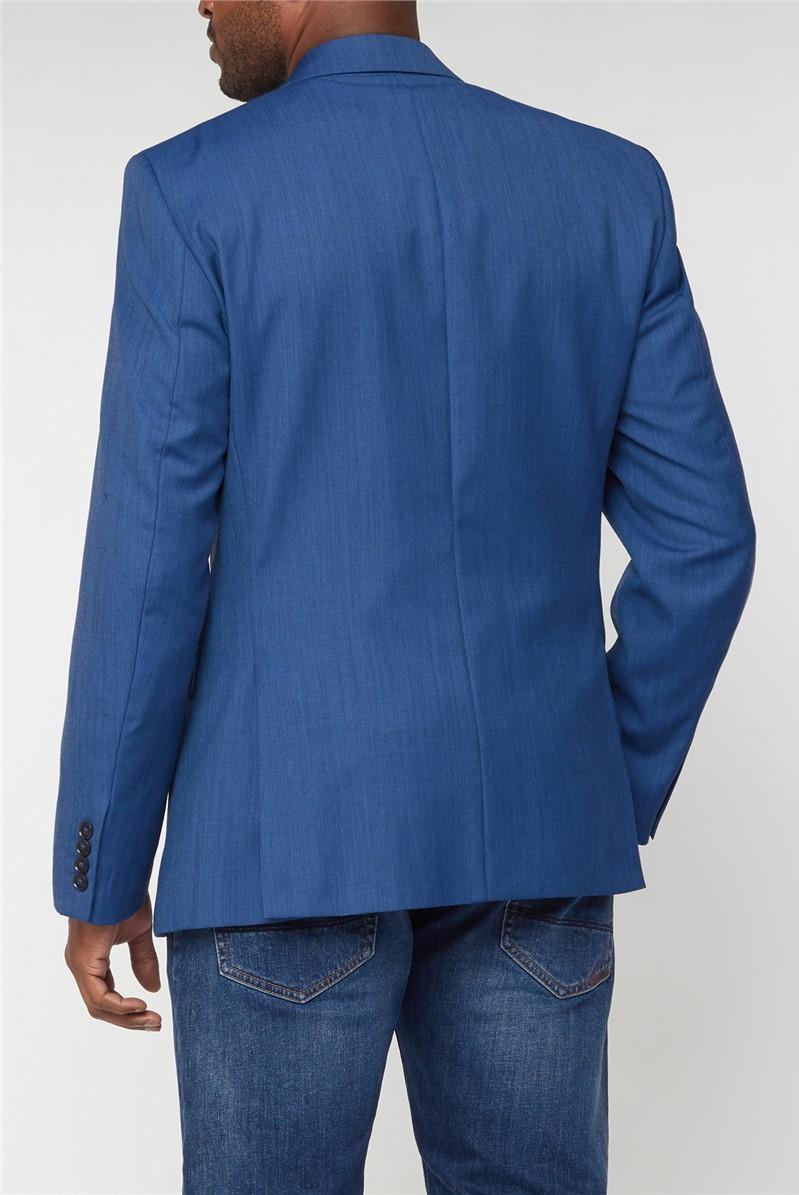 Bright Blue Pick & Pick Athletic Fit Jacket