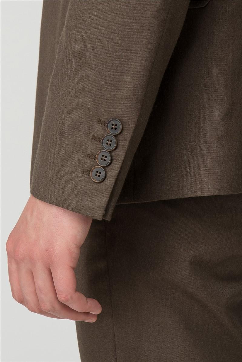 Olive Panama Slim Trousers