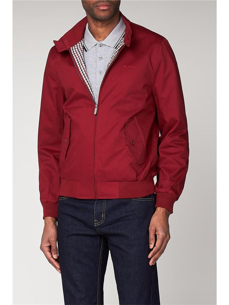 Red Harrington Jacket