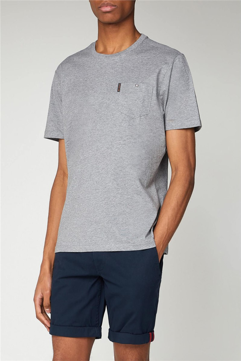Charcoal T-Shirt with Chest Pocket