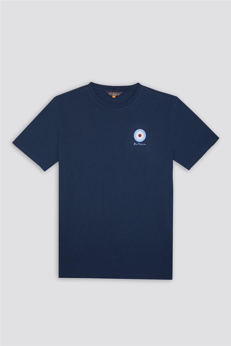 Navy Chest Target T-Shirt