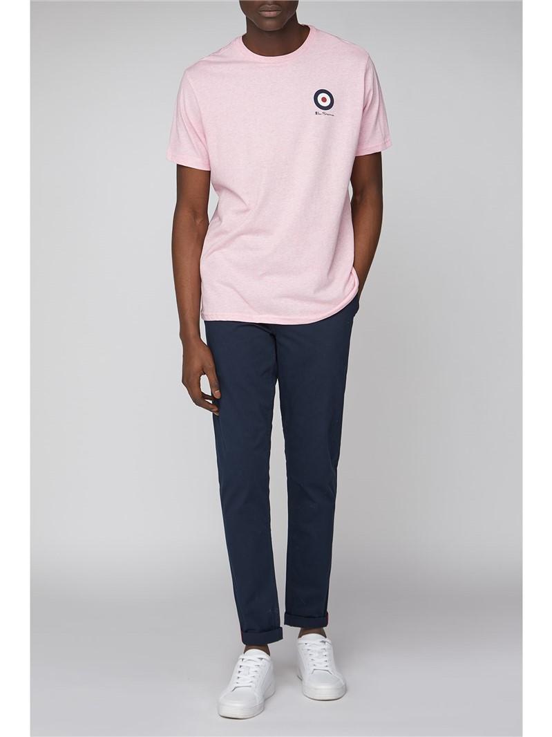 Pink Chest Target T-Shirt