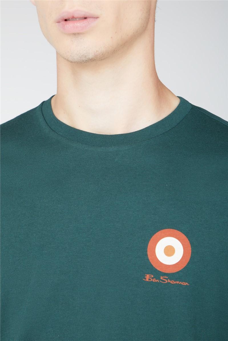 Green Chest Target T Shirt