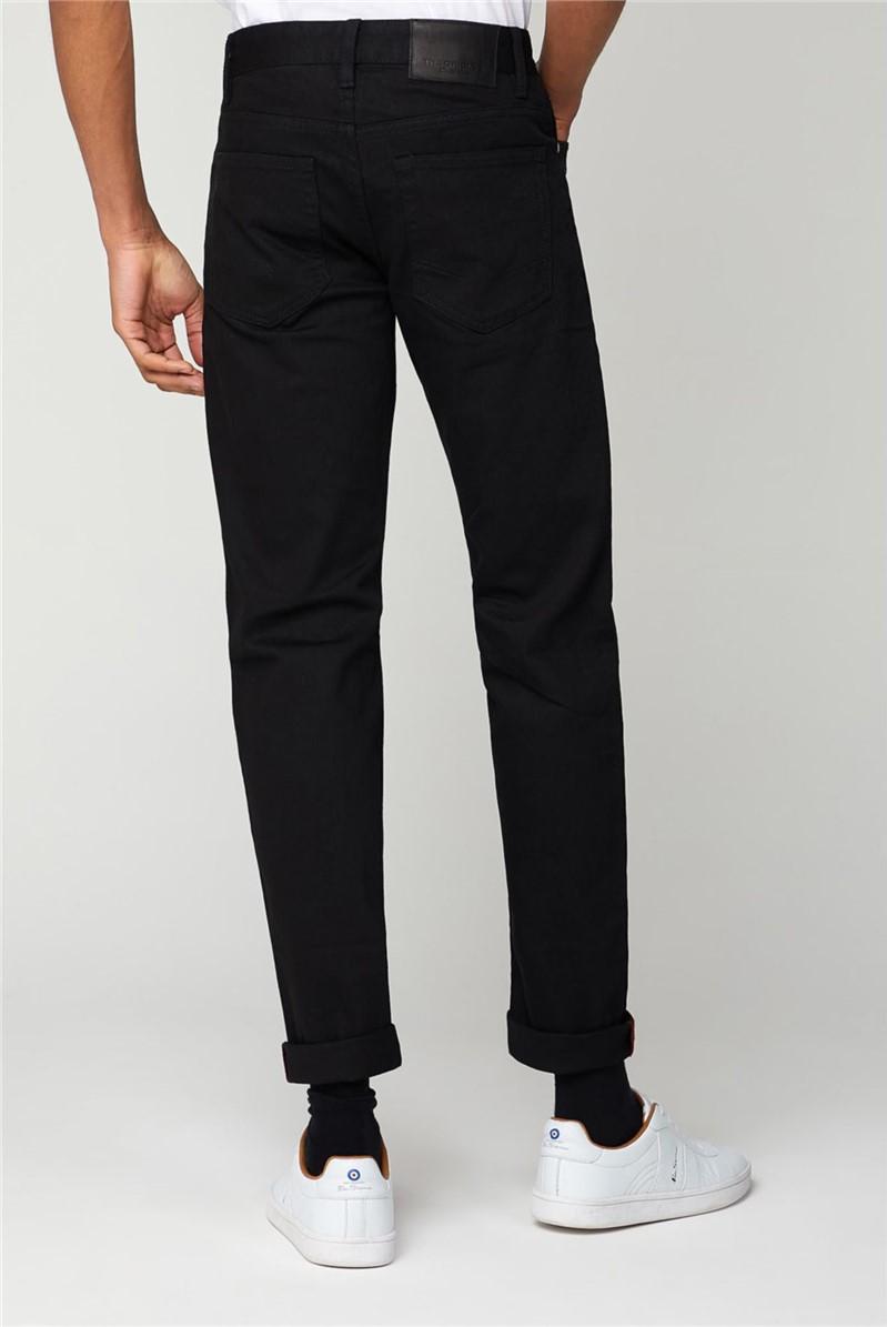 Black Straight Fit Jean