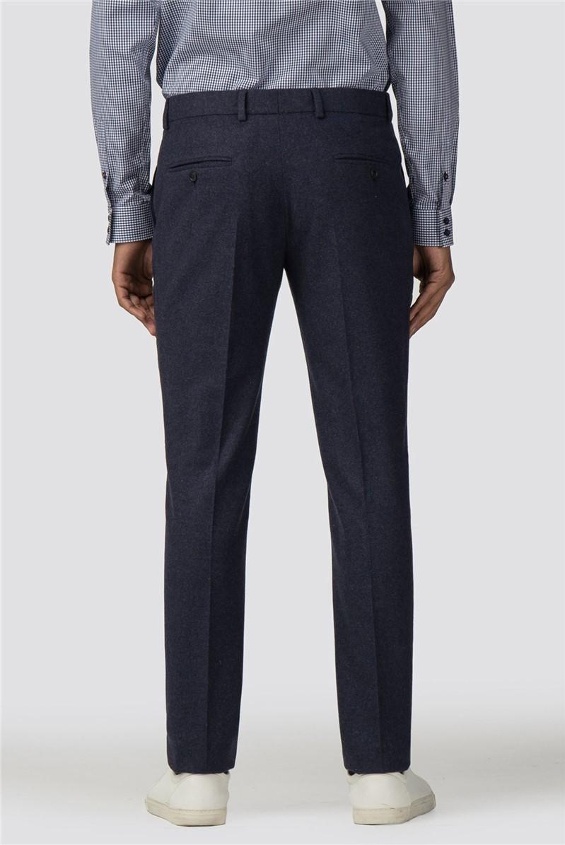 Deep Blue Tweed Donegal Camden Trouser