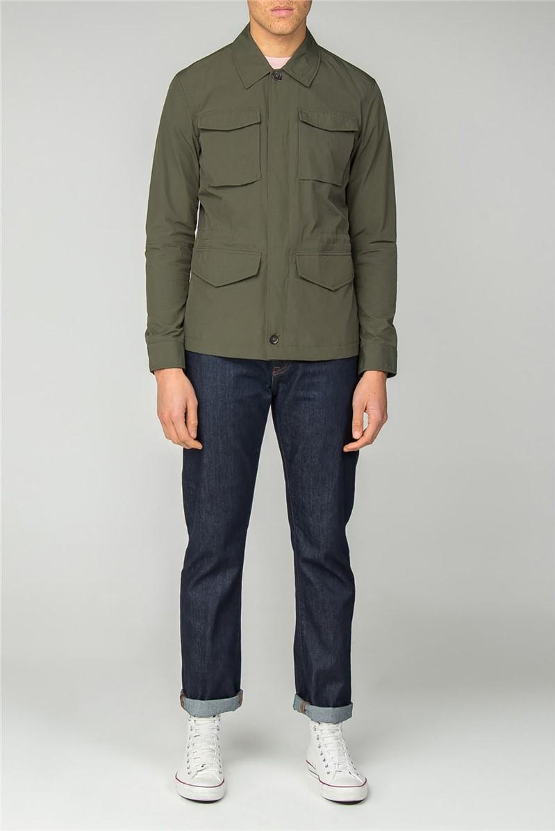 Dark Green Four Pocket Jacket