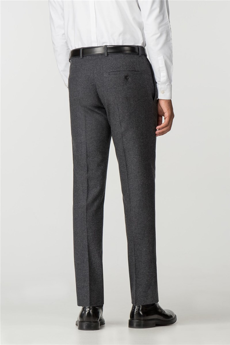 Charcoal Donegal Slim Fit Trousers