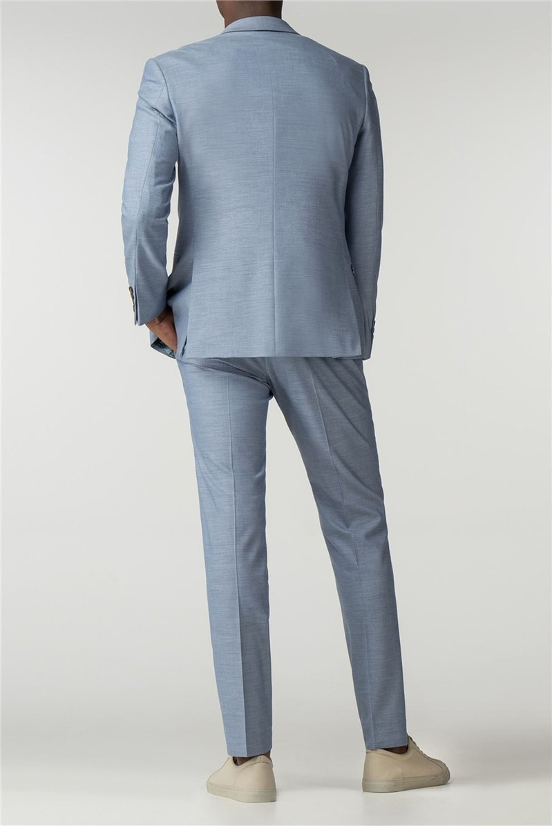Pale Blue Slim Fit Suit