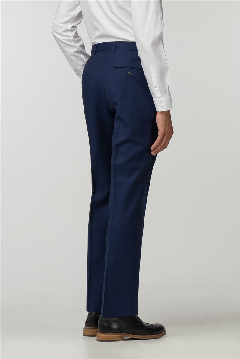 Blue Texture Modern Big And Tall Trousers