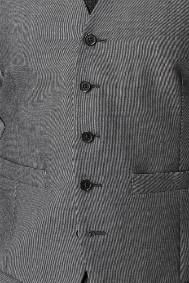 Grey Tonic Tailored Fit Performance Waistcoat