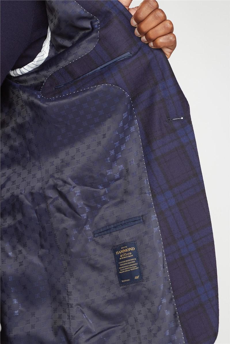 Black Blue Tartan Dinner Jacket