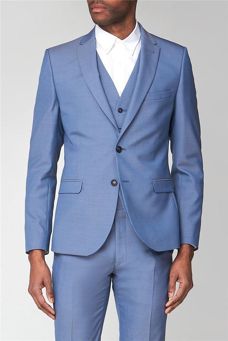 Smoke Blue Tonic Camden Trouser