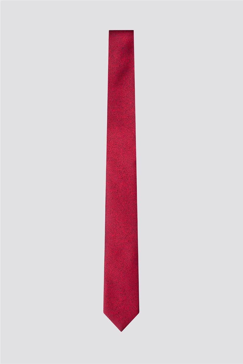 Red Scratch Tie