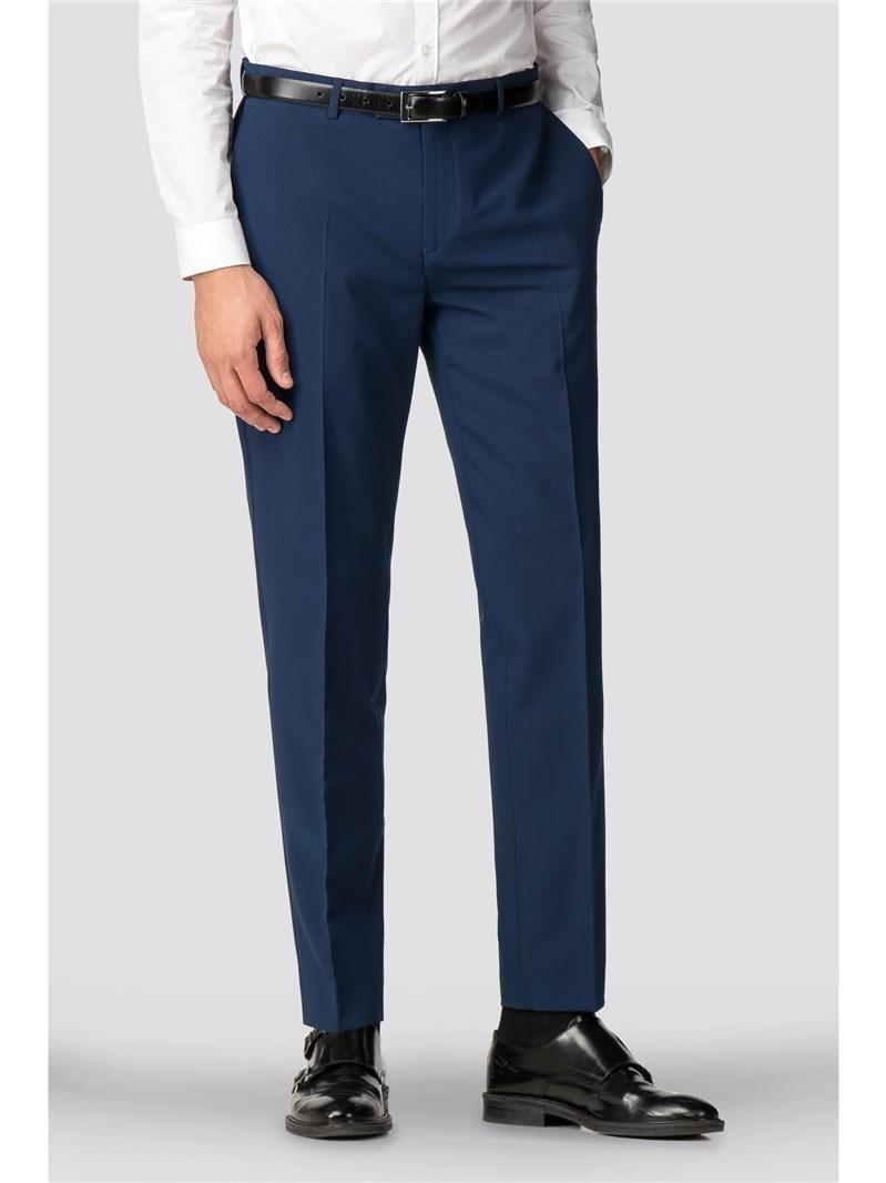 Erlangen Blue Skinny Fit Suit Trouser