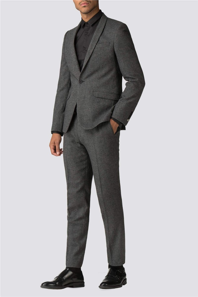 Faray Charcoal Donegal Skinny Fit Suit