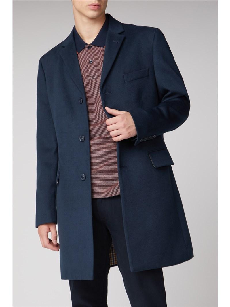 Blue Tailored Coat