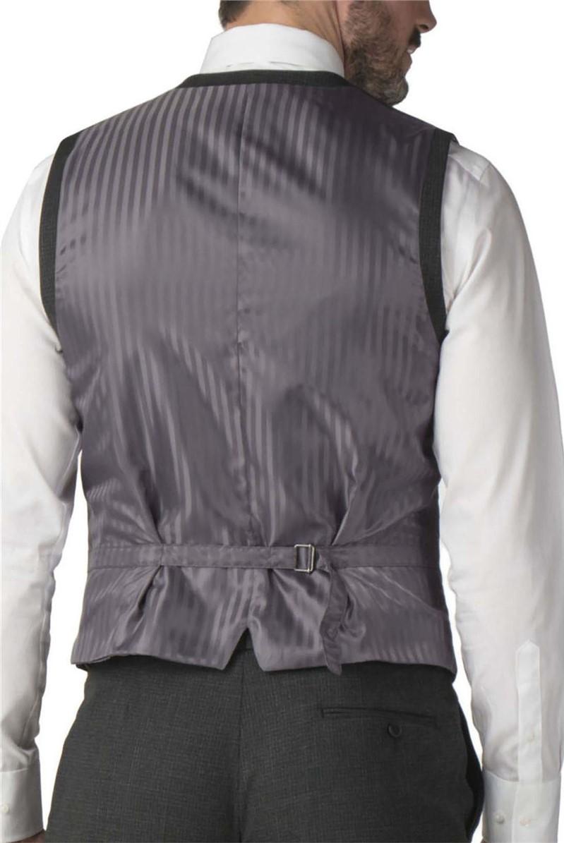 Chacoal Semi Plain Wool Blend Regular Fit Waistcoat