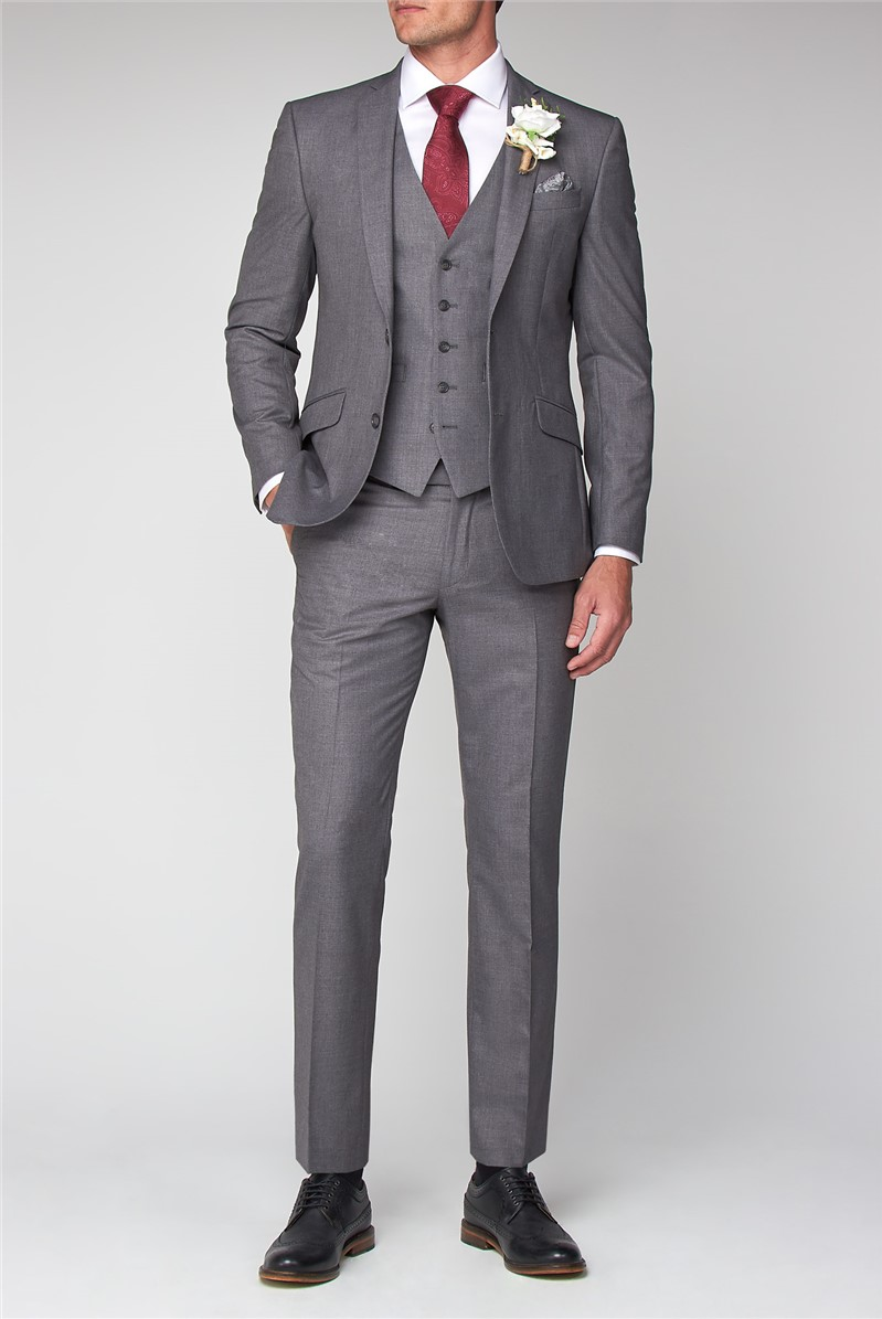 Occasions Grey Tailored Fit Suit