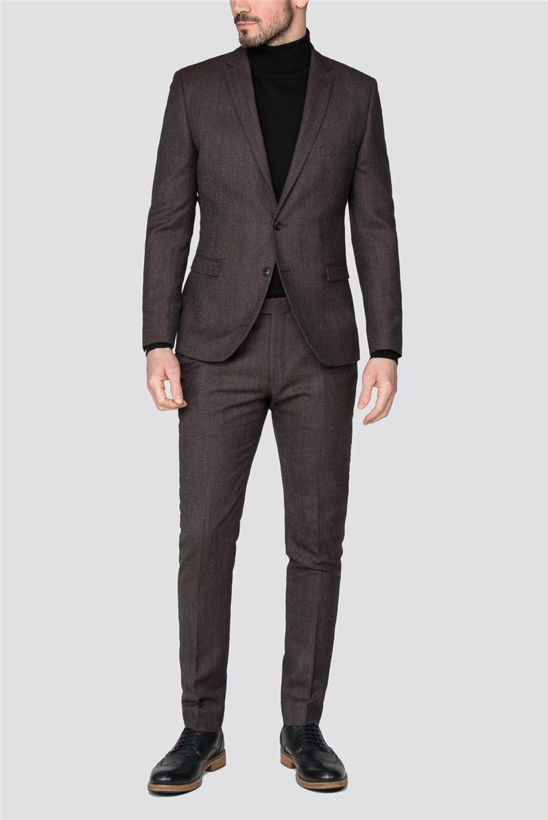 Rust Speckle Slim Fit Suit