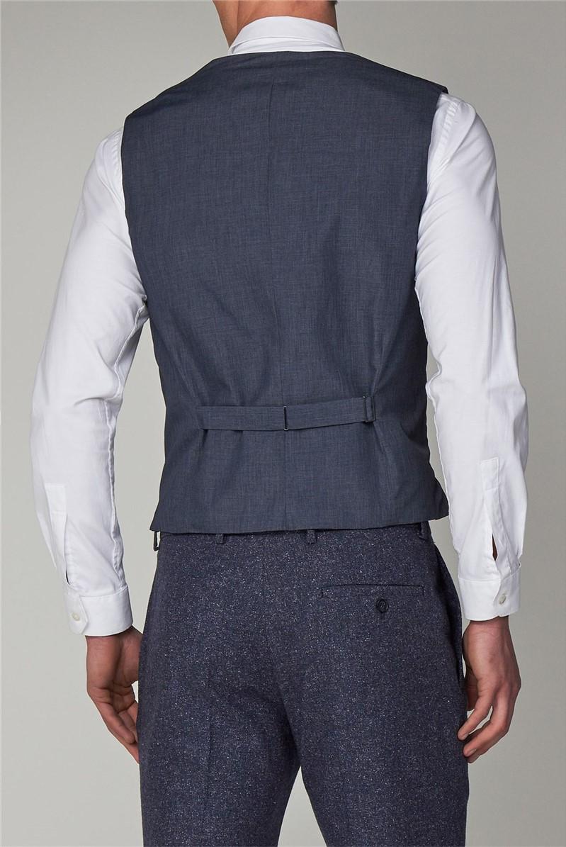 Airforce Blue Speckle Slim Fit Suit