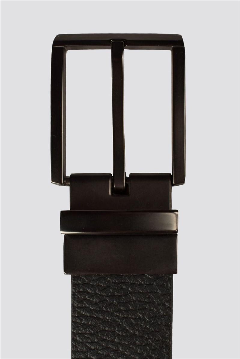 Black Brown Reversible Belt