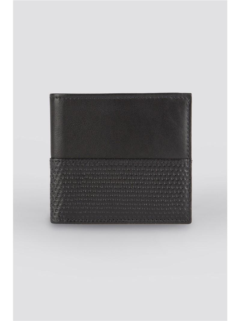 Black Perforated Wallet
