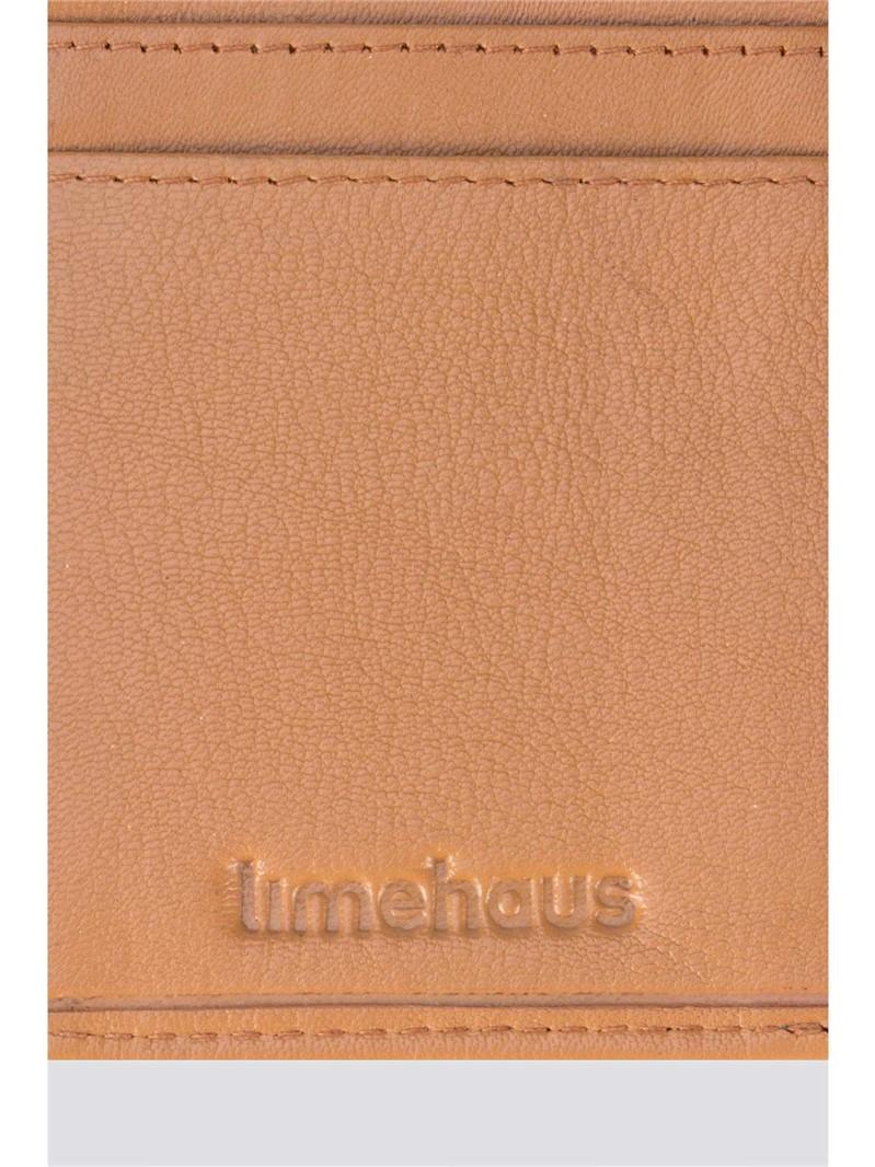 Tan Tri Fold Wallet