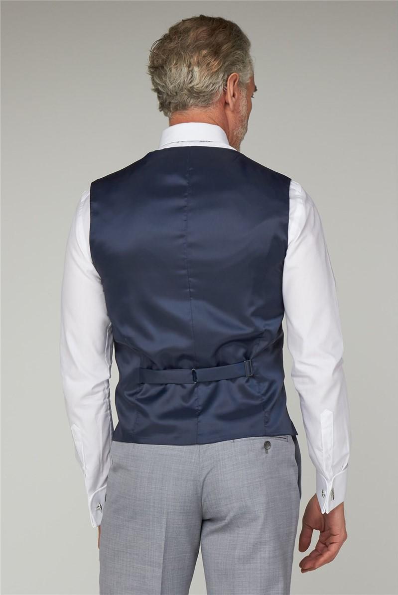 Ice Grey Tailored Fit Waistcoat
