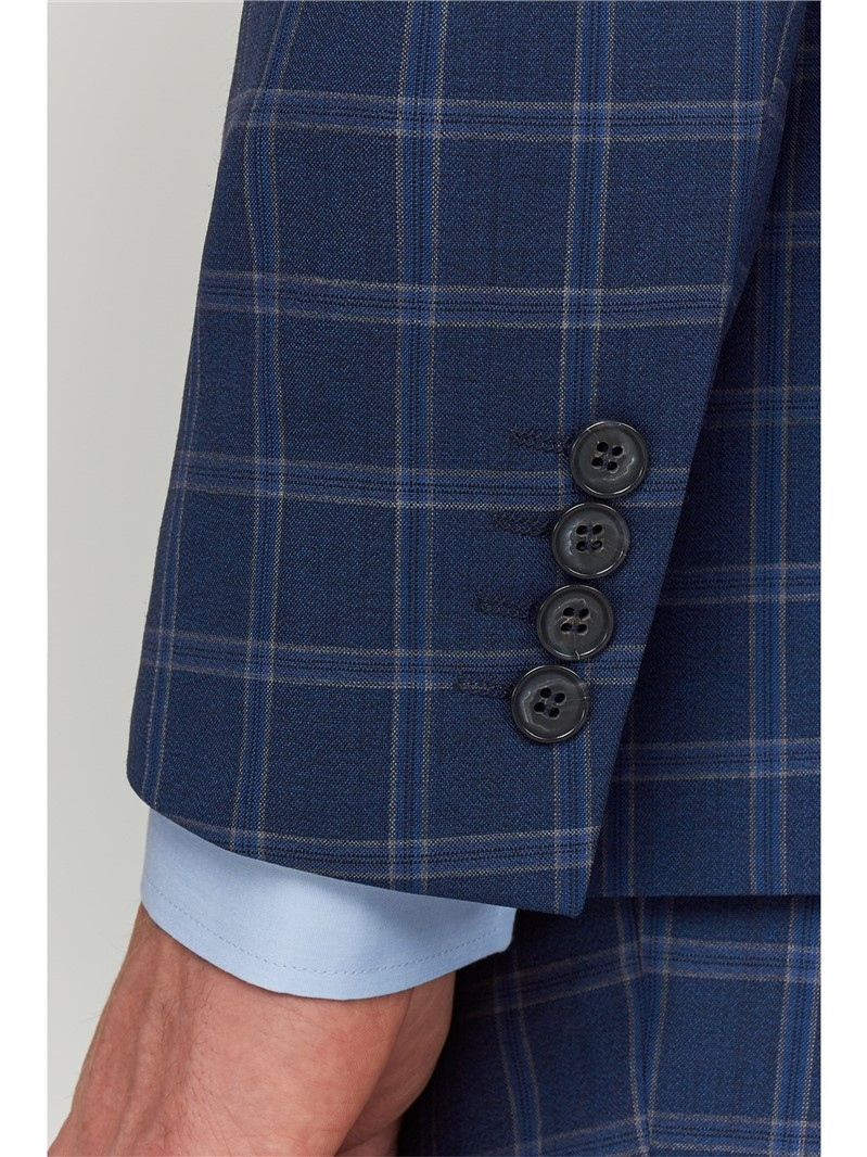 Airforce Windowpane Tailored Fit Suit